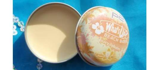 p2 what's up beach babe juicy lipbalm, Farbe: 010 vanilla passion (LE)