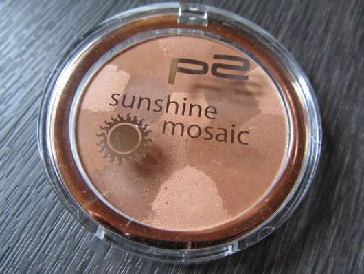p2 sunshine mosaic powder, Farbe: 010 tahiti paradise