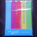 p2 what's up beach babe nail file set to go (LE)