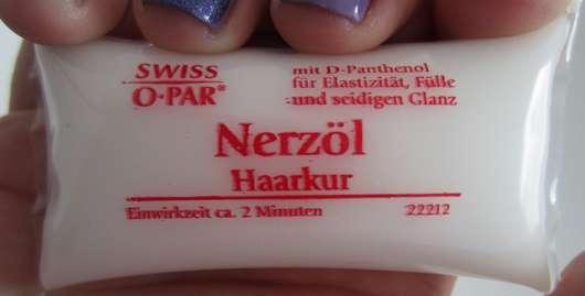 Swiss O Par Nerzöl Haarkur