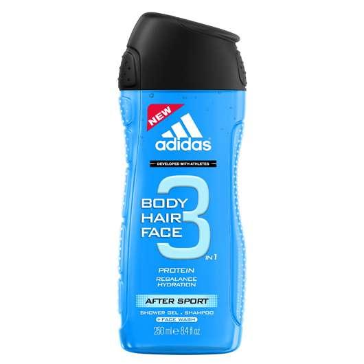 Die neuen 3in1 adidas Shower Gels für Männer
