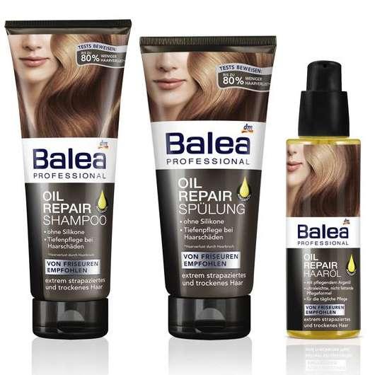 Balea Professional Oil Repair Serie mit pflegendem Arganöl