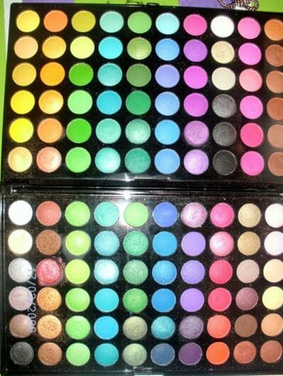 BH Cosmetics 120 Color Palette Eyeshadow 2nd Edition