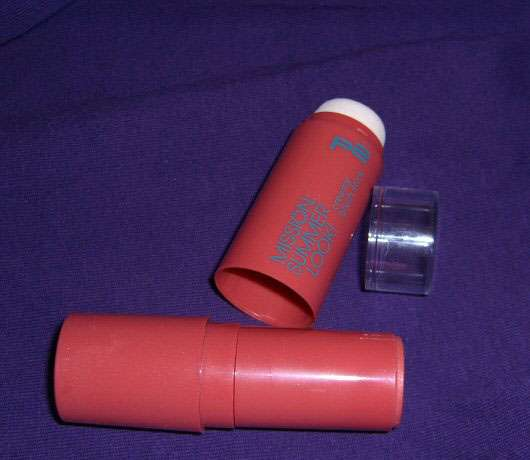 p2 mission summer look! creamy blush stick, Farbe: 10 sunset lounge (LE)