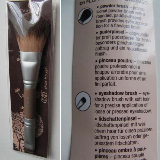 essence wild craft duo brush (Limited Edition)