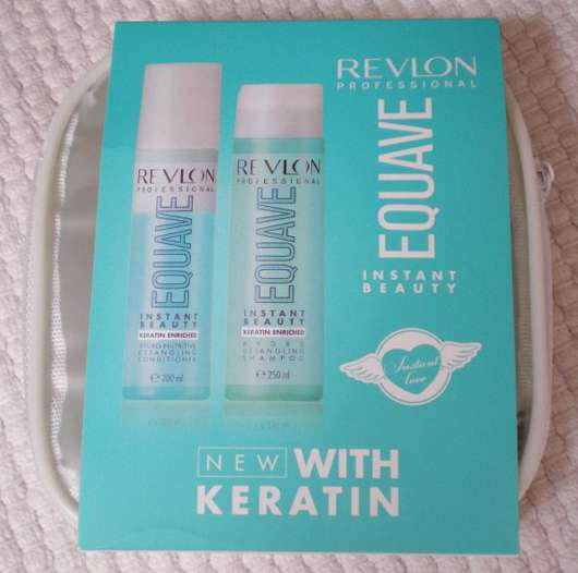 <strong>REVLON PROFESSIONAL EQUAVE</strong> Travelpack - Hydro Nutritive Shampoo & Conditioner