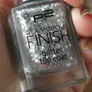 p2 glamorous finish glitter top coat, Farbe: 030 let's dance!