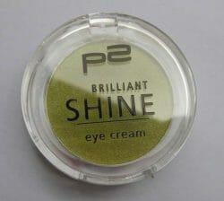 Produktbild zu p2 cosmetics brilliant shine eye cream – Farbe: 020 groovy green