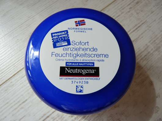 <strong>Neutrogena Norwegische Formel</strong> Sofort einziehende Feuchtigkeitscreme