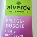 alverde Pflegedusche Quitte Brombeere (LE)