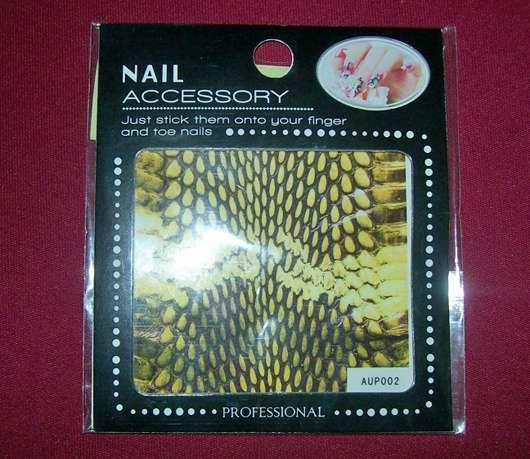 nailista Schlangenhaut Nailart Sticker, Farbe: 06
