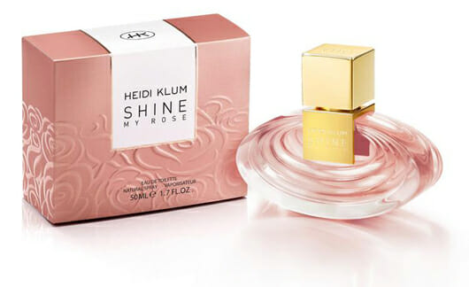 Heidi Klum präsentiert ihren neuen Duft: SHINE ROSE