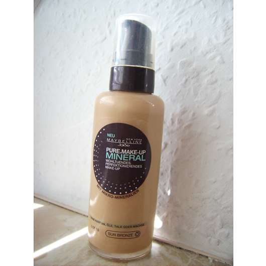 Maybelline Jade Pure Make-up Mineral, Nuance: 50 Sun Bronze