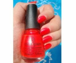 Produktbild zu China Glaze Nail Lacquer With Hardeners – Farbe: 1092 Surfin' for Boys (LE)