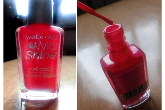 wet n wild wild shine nail color, Farbe: E429D dreamy poppy