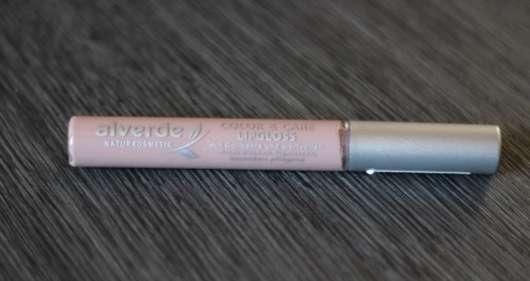 alverde Color & Care Lipgloss, Farbe: 10 Nude Toffee