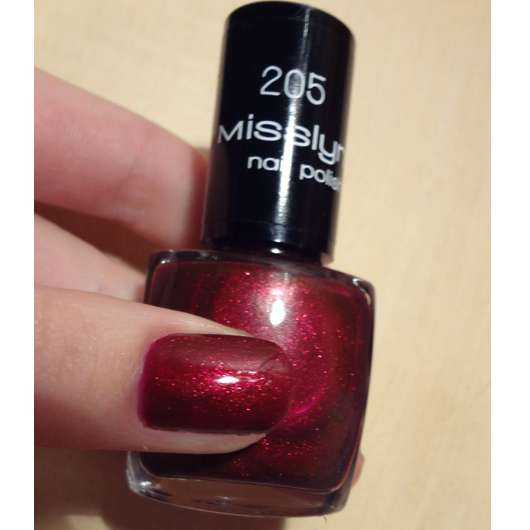 Misslyn nail polish, Farbe: 205
