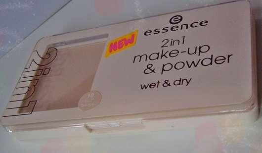 essence 2in1 make-up & powder wet & dry, Nuance: 10 soft beige