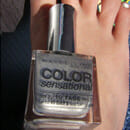 Maybelline Color Sensational Nail Lacquer, Farbe: 330 Silver Star