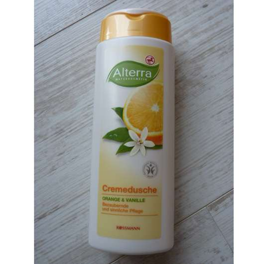 Alterra Cremedusche Orange & Vanille