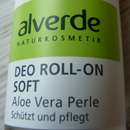 alverde Deo Roll-On Soft Aloe Vera Perle