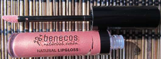 benecos Natural Lipgloss, Farbe: Apricot
