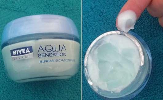 Nivea Aqua Sensation Belebende Feuchtigkeitspflege