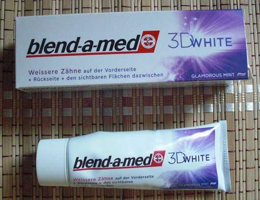 blend-a-med 3D White Glamorous Mint Zahncreme