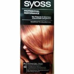 Produktbild zu SYOSS Dauerhafte Coloration – Farbe: 8-7 Honigblond