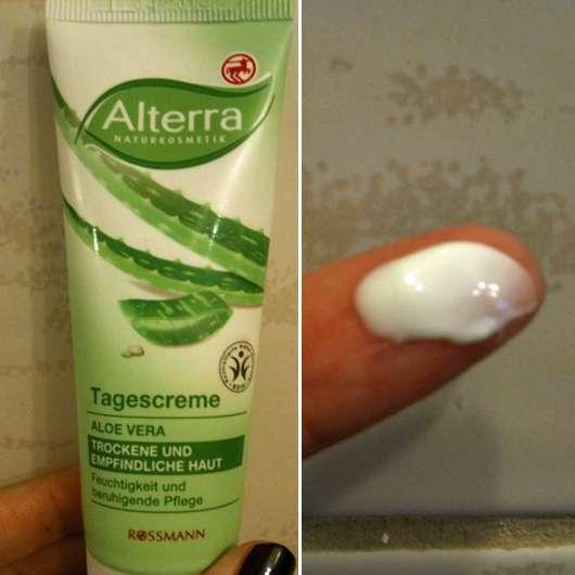 Alterra Tagescreme Aloe Vera (trockene und empfindliche Haut)