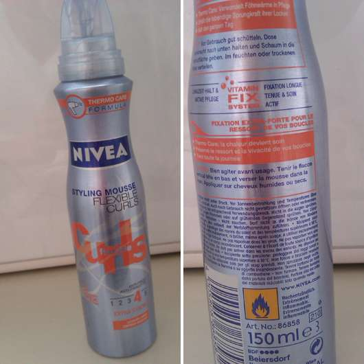 Nivea Flexible Curls Styling Mousse (4 extra stark)