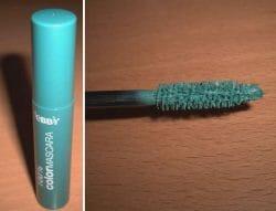 Produktbild zu debby 100% Color Mascara – Farbe: 01 Green