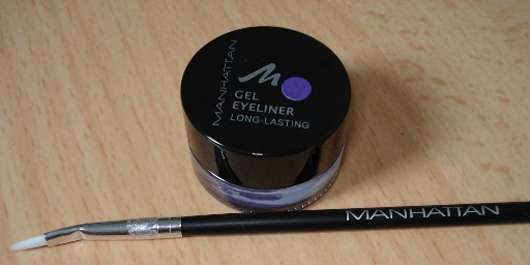 Manhattan Gel Eyeliner, Farbe: 2 purple + Pinsel (Summerama LE)