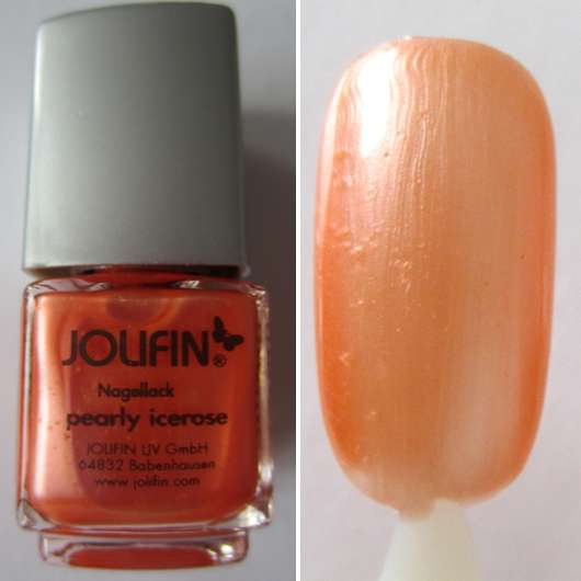 <strong>Jolifin</strong> Nagellack - Farbe: Pearly Icerose