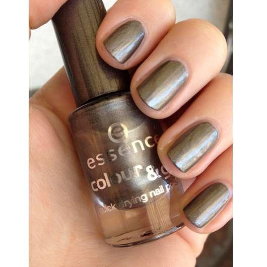 essence colour & go quick drying nail polish, Farbe: 83 luxury secret