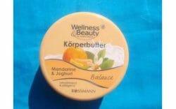 Produktbild zu Wellness & Beauty Körperbutter Mandarine & Joghurt