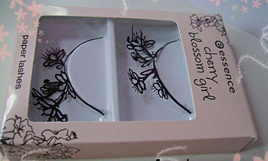 essence cherry blossom girl paper lashes (LE)
