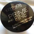 Catrice Prime and Fine Smoothing Refiner