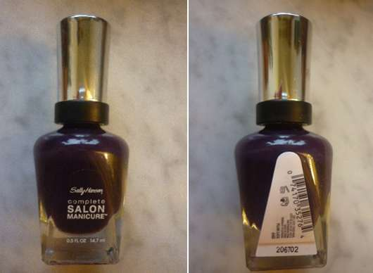 Sally Hansen Complete Salon Manicure, Farbe: 640 Plum Luck