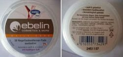 Produktbild zu ebelin 30 Nagellackentferner-Pads acetonfrei