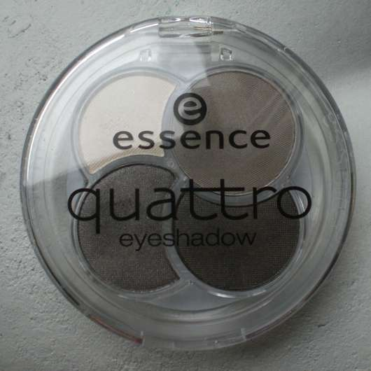 essence quattro eyeshadow, Farbe: 07 over the taupe