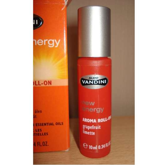 <strong>aldoVANDINI</strong> new energy Aroma Roll-On Grapefruit Limette