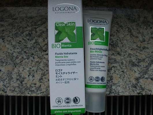LOGONA Feuchtigkeitsfluid Bio-Minze