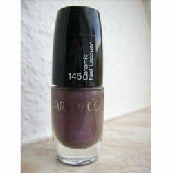 Produktbild zu ARTDECO Ceramic Nail Lacquer – Farbe: 145 Mystic Grey Violet