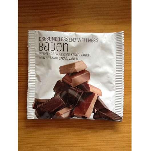 <strong>Dresdner Essenz Wellness Baden</strong> Wärmende Badeessenz Kakao/Vanille