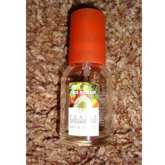 Yves Rocher Les Plaisirs Nature Strawberry Eau de Toilette