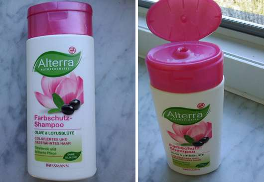 Alterra Farbschutz-Shampoo Olive & Lotusblüte