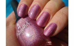 Produktbild zu Biocura Beauty Nagellack – Farbe: 03 Fliederzauber