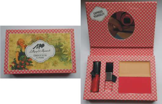 Manhattan Lollipop & Alpenrock Make-up Kit, Farbe: 4 Sexy Madl (LE)