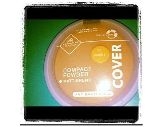 MANHATTAN CLEARFACE Compact Powder, Farbe: 70 Vanilla